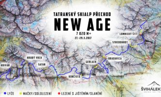 """""""Tatra New Age"""" czyli skiALPINIZM z Zielonego Plesa po Krywań"""